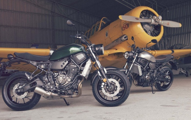Yamaha XSR700 Static 2017 (click to view)