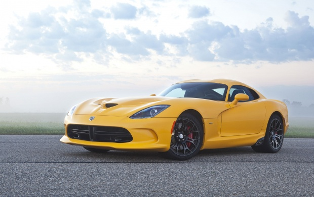 Yellow Dodge SRT Viper GTS Car (click to view)