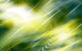 Yellow Green Waves