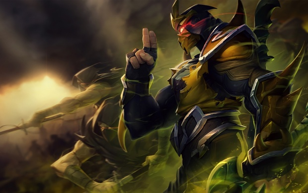 Yellow Jacket Shen League Of Legends wallpapers