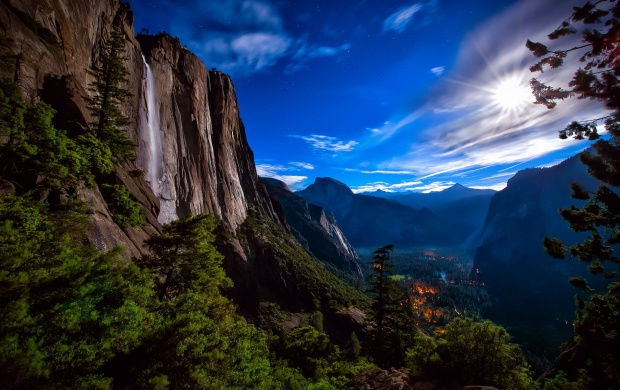 Yosemite National Park Forest Valley (click to view)