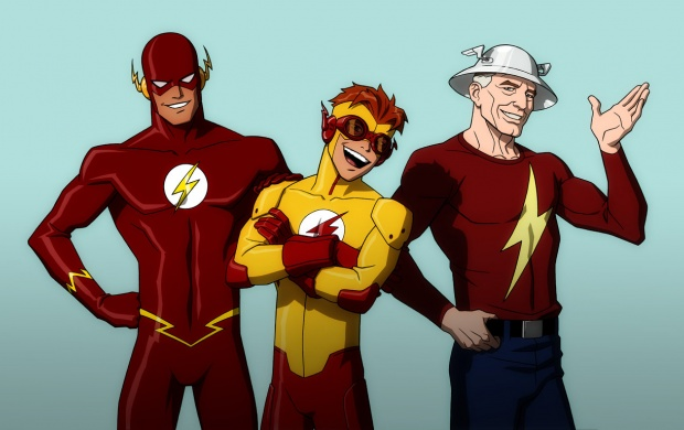 Young Justice Cartoon (click to view)