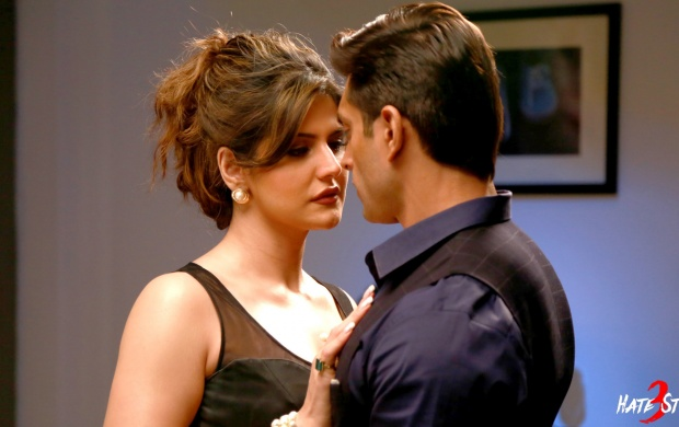 Zarine Khan And Karan Singh Grover In Hate Story 3 (click to view)