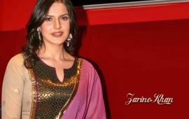 Zarine Khan Indian Dress