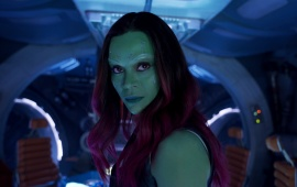 Zoe Saldana As Gamora Guardians Of The Galaxy Vol. 2