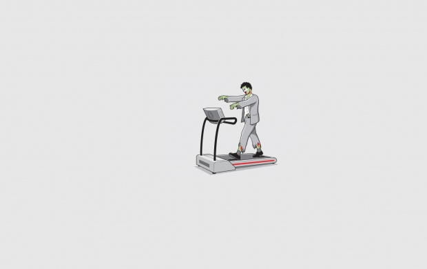 Zombie On A Treadmill (click to view)