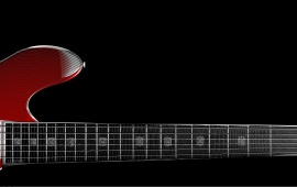 Zoom Red Guitar