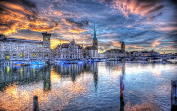 Zurich City River (click to view)