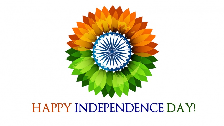 15 August India Independence Day Flowers Wallpapers