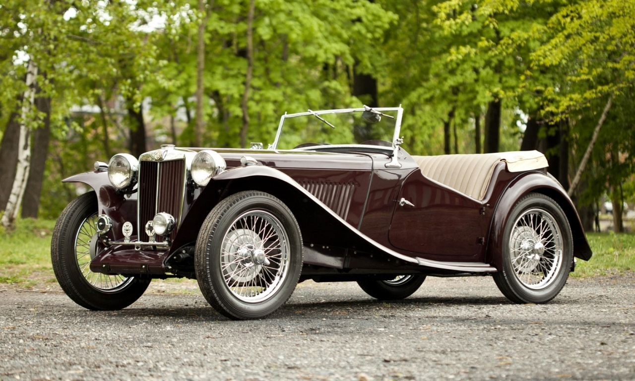 1949 MG TC Midget Two Seater