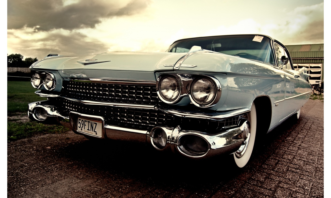 1959 Cadillac Deville Coupe Wallpapers - 1280x768 - 362495