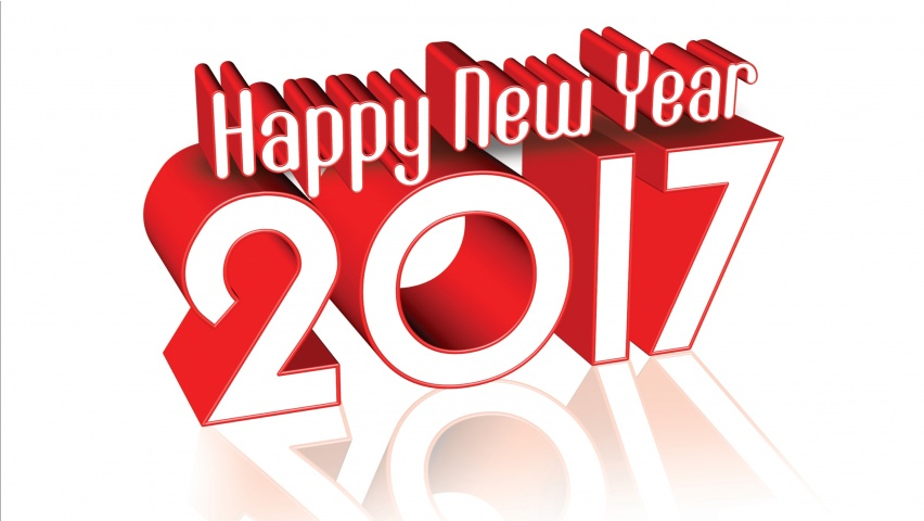 2017 Happy New Year Clipart