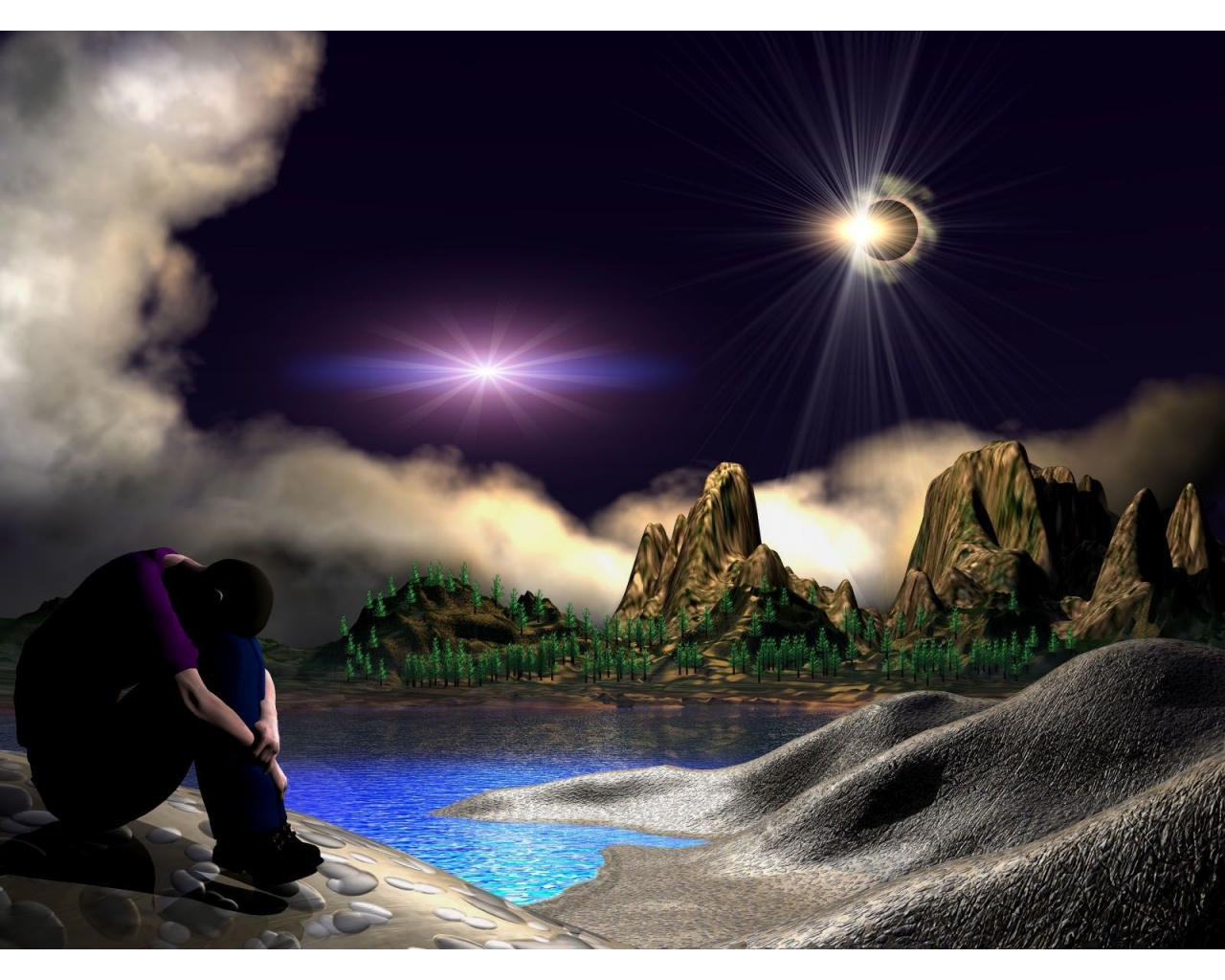 3d alone boy wallpapers 1280x1024 336648 for 3d wallpaper for boys