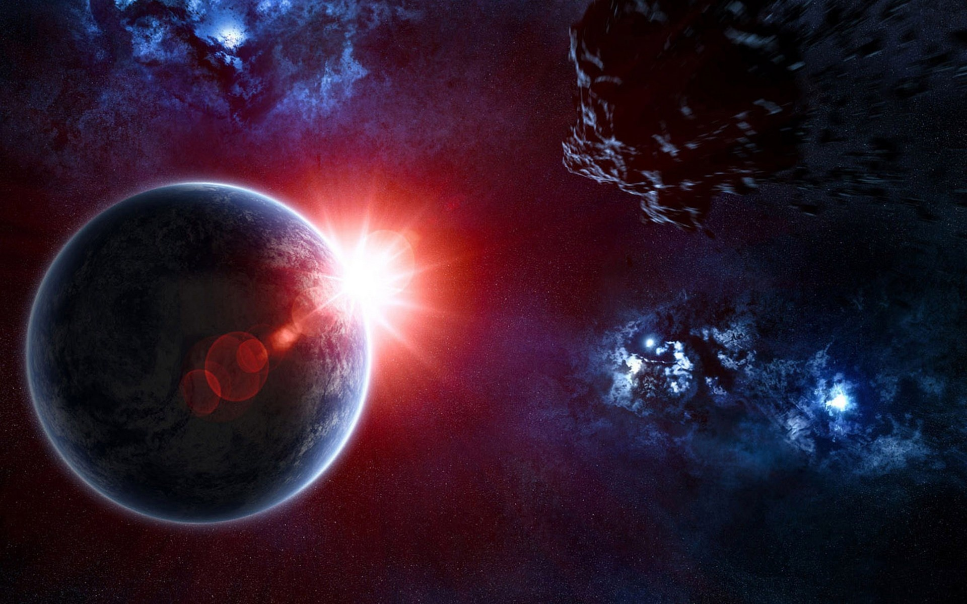3d space wallpapers 1920x1200 582459 - Space wallpaper 1920x1200 ...