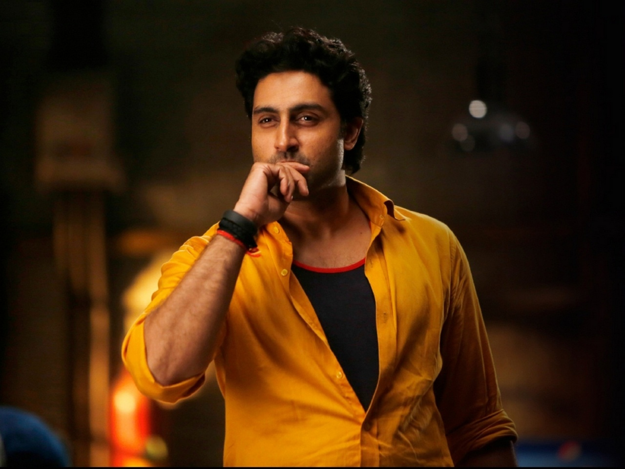 Abhishek Bachchan In Happy New Year Movie