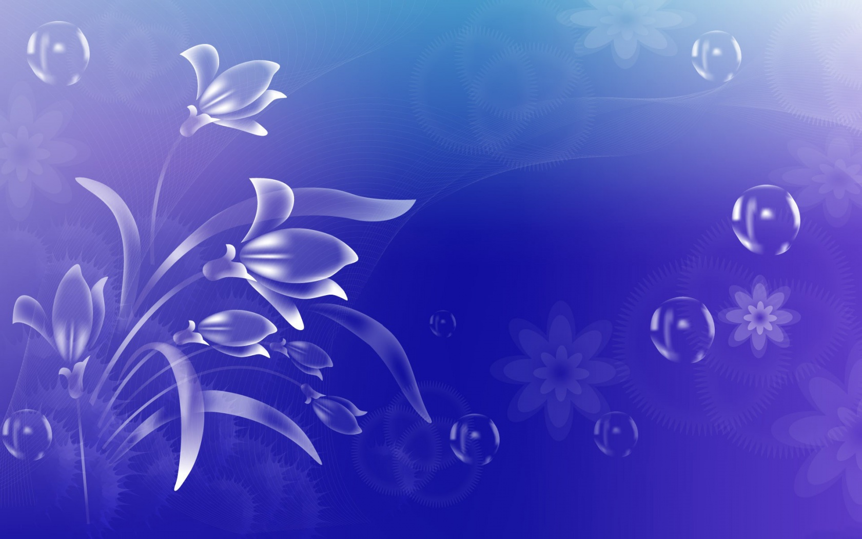 Abstract Spring Flower Wallpapers