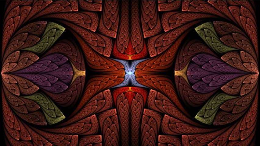 Abstraction Fractal Art
