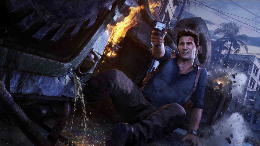 Action Uncharted 4 A Thief's End