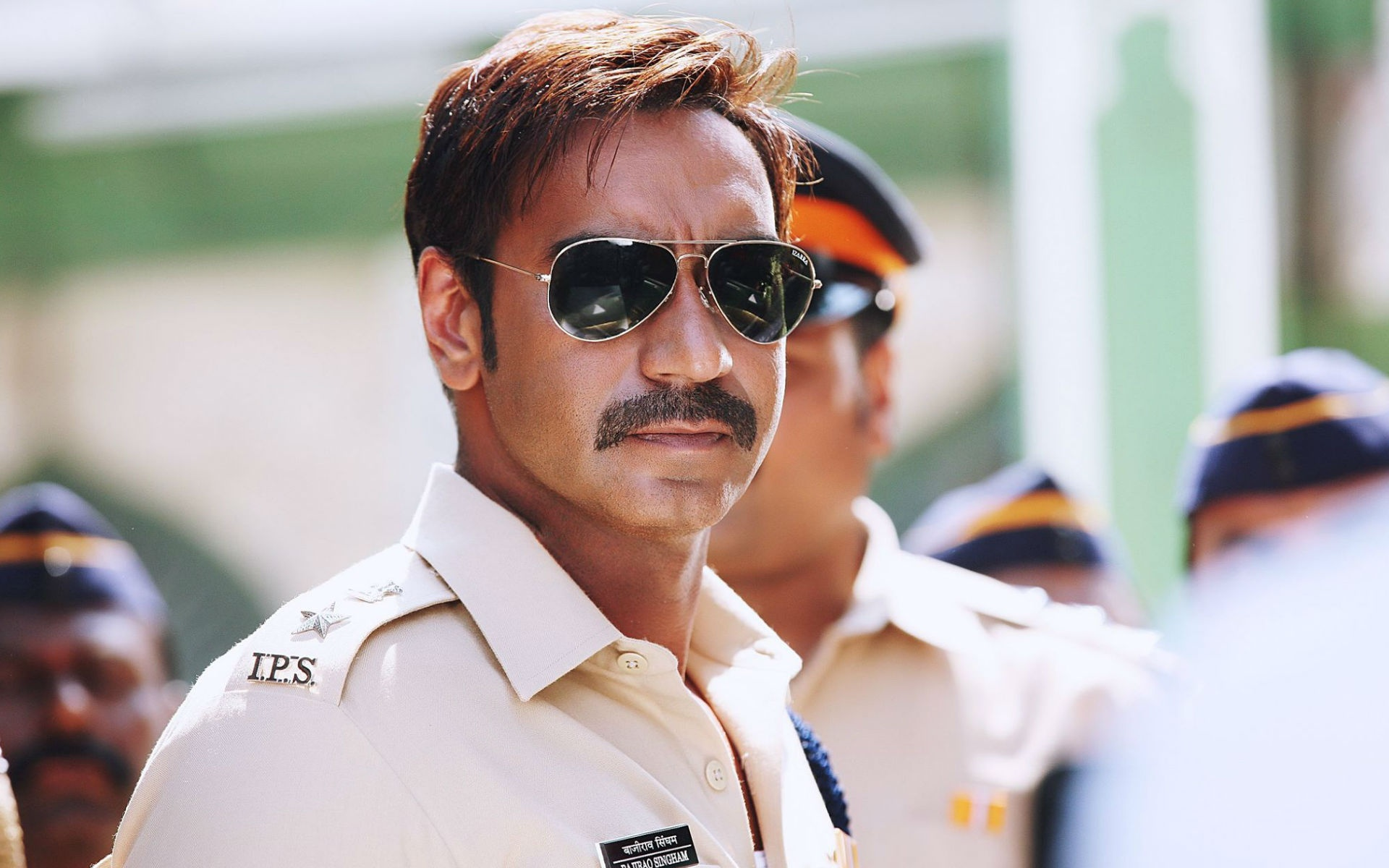 Ajay Devgan In Singham Returns 2014