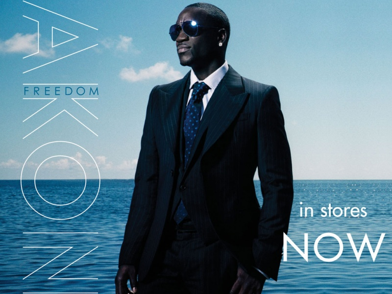 Akon Freedom Album Cover