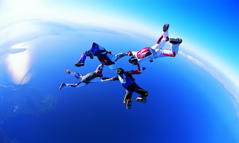 Amazing Skydiving