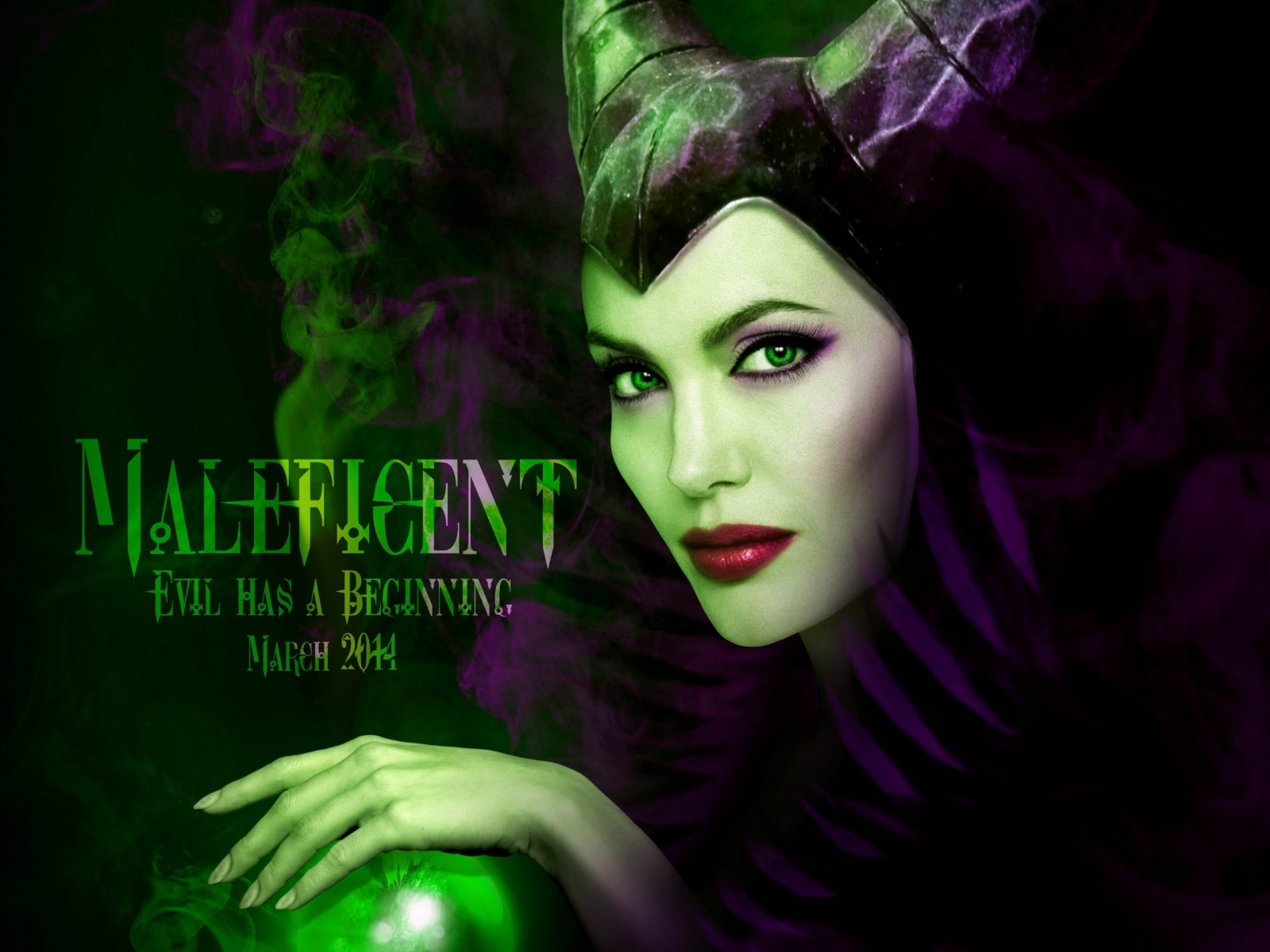 Angelina Jolie In Maleficent 2014