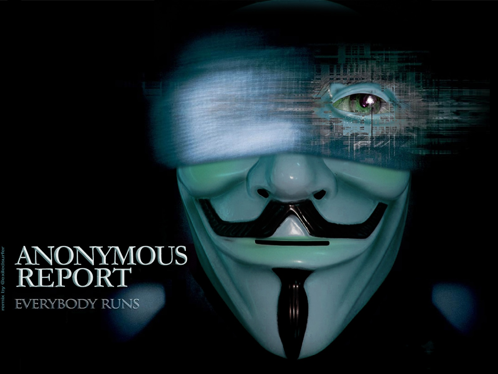 Anonymous Report - Upcoming Movie Wallpapers - 1600x1200 ...