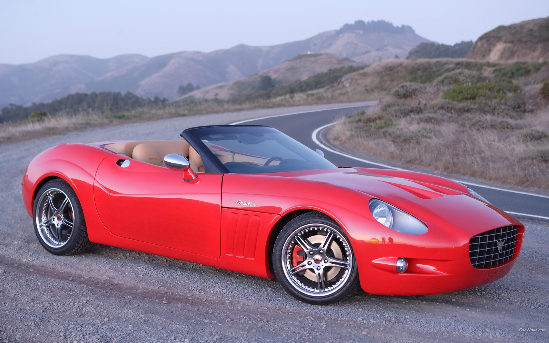 Anteros XTM Roadster On Road
