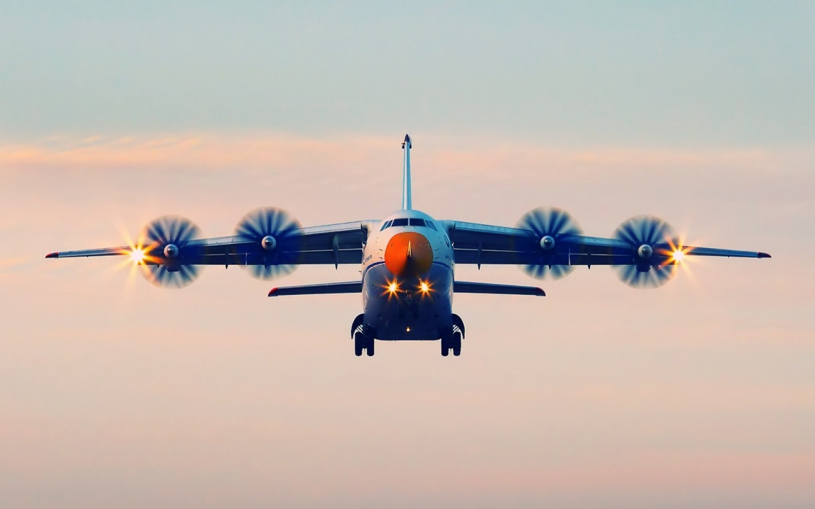 Antonov An-70 Four Engine Transport Aircraft