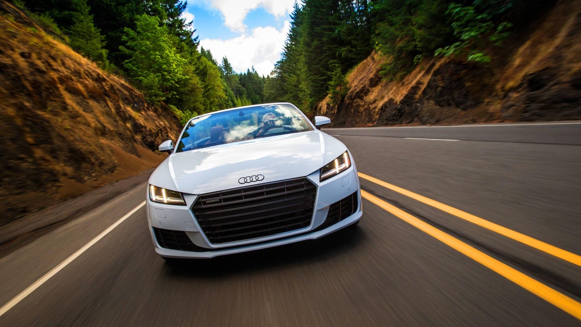 Audi Tt First Drive 2016 Wallpapers 1920x1080 683725