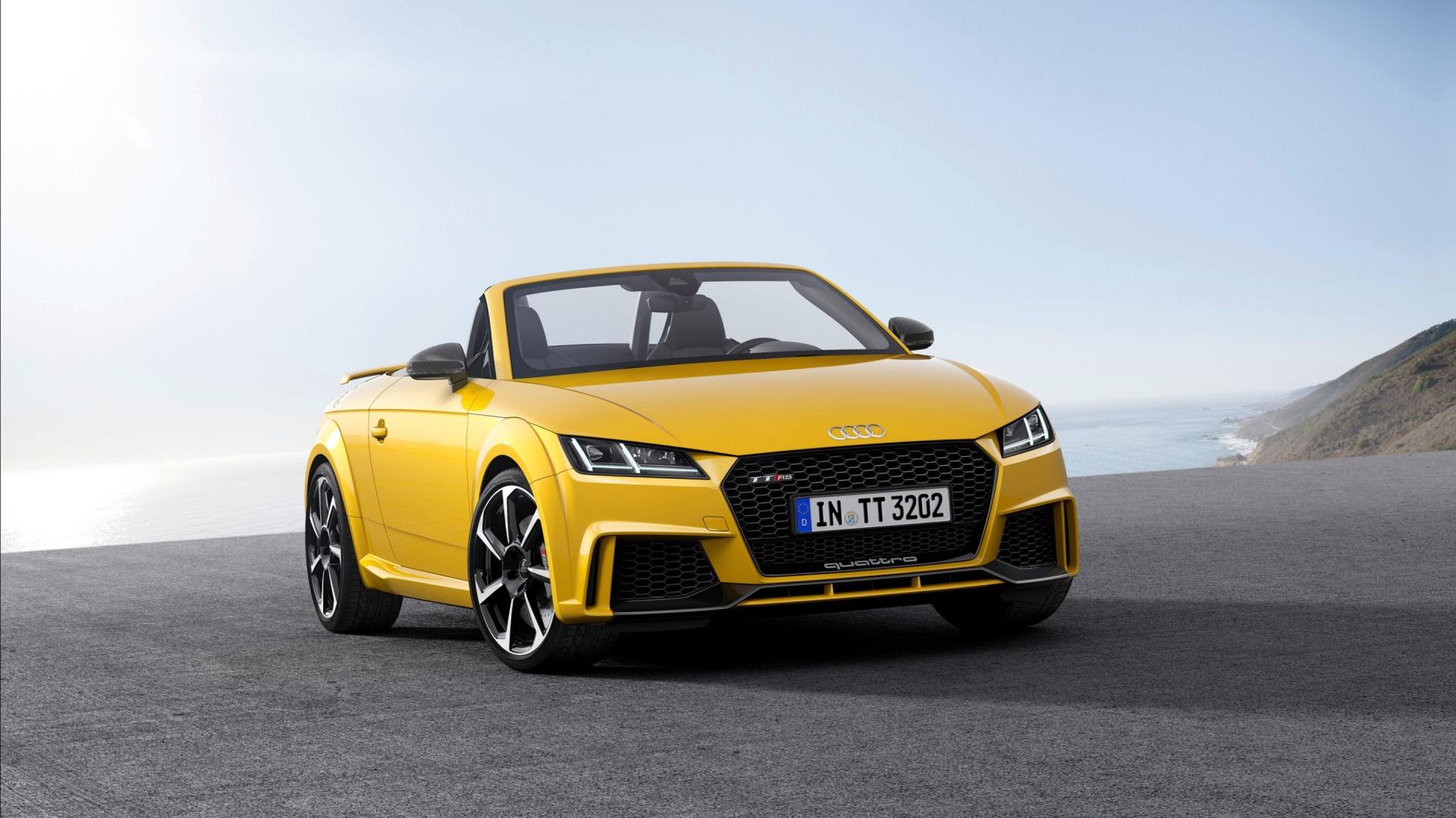 Audi Tt Rs Roadster 2016 Wallpapers 1920x1080 525448