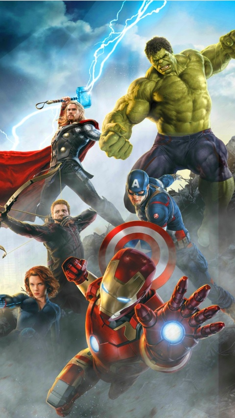 Avengers: Age Of Ultron Heroes