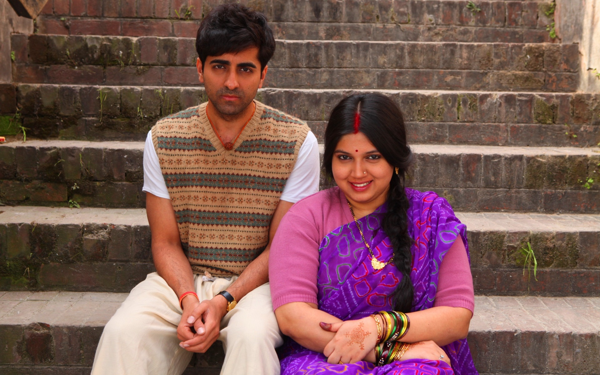 Ayushmann And Bhumi In Dum Laga Ke Haisha