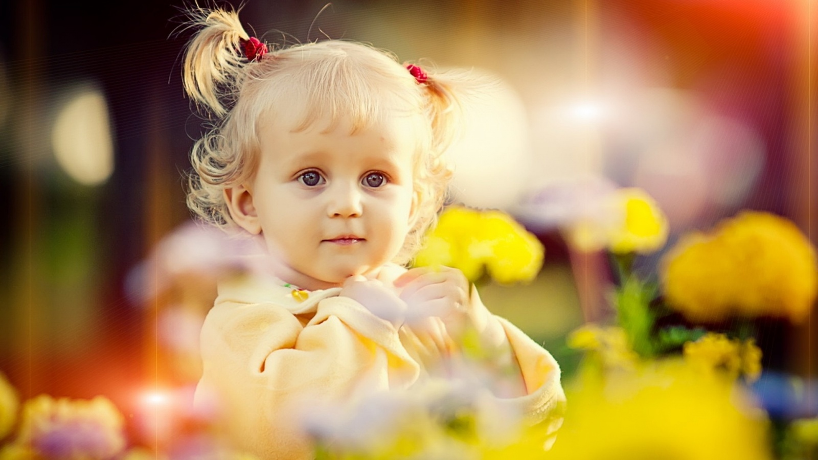 Baby Girl Beautiful Hair Style Wallpapers  1600x900 284888
