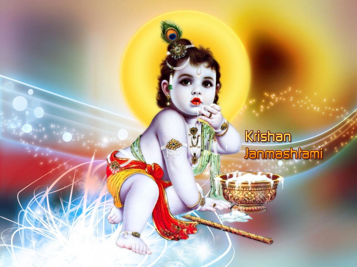 Baby Krishna Wallpapers