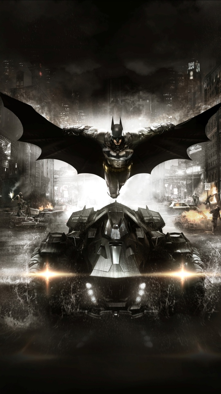 720 x 1280 px wallpaper: Batman: Arkham Knight 2015 Game Wallpapers