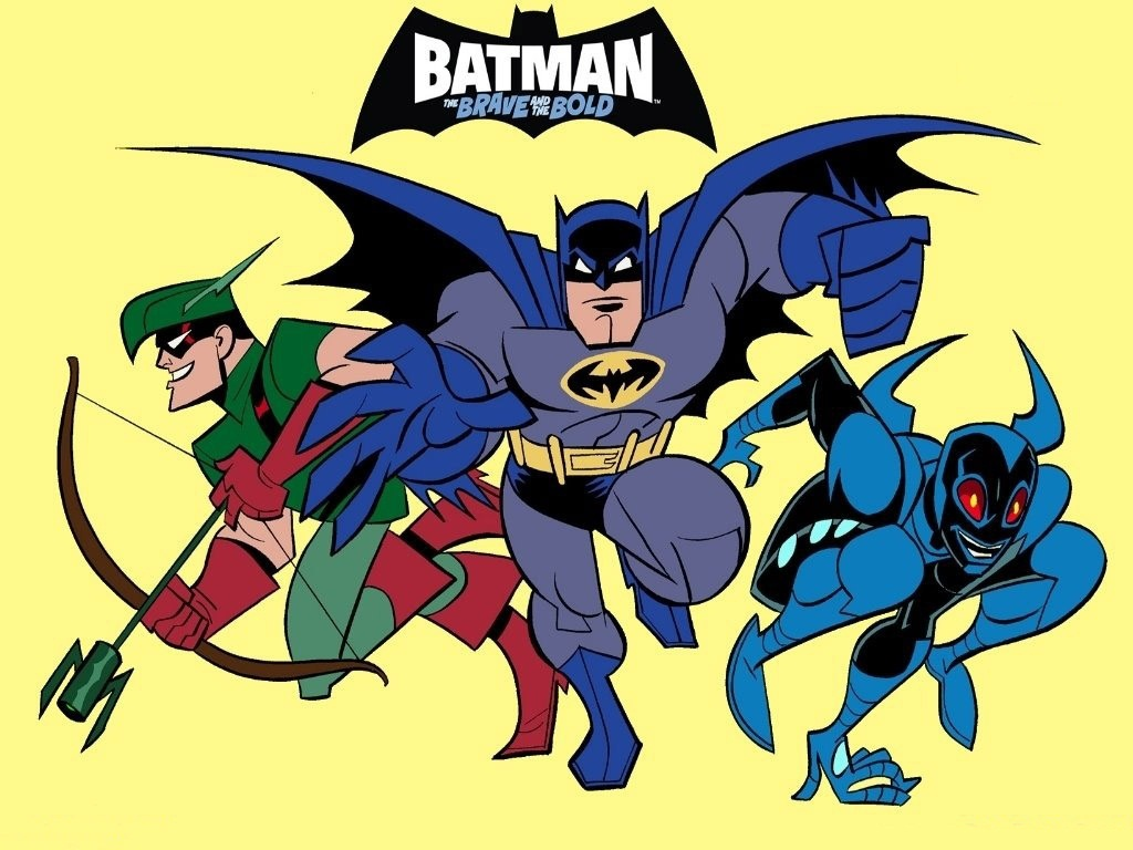 Batman And Robin Cartoon