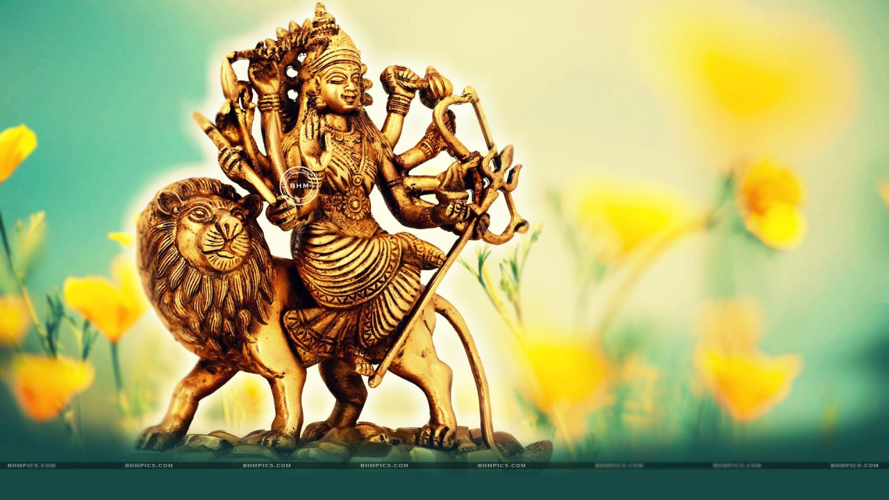 Beautiful Goddess Durga Statue