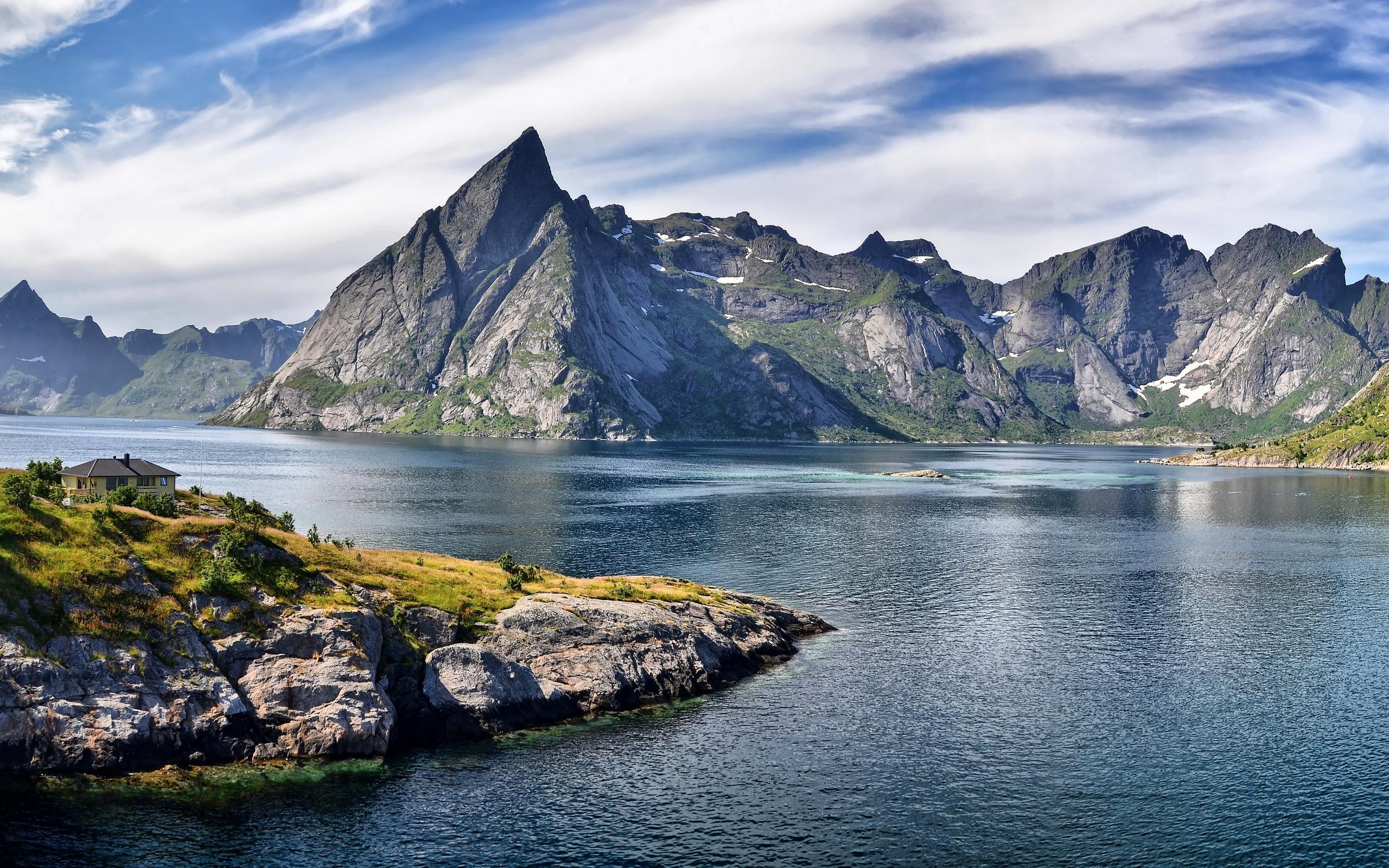 beautiful mountains lake wallpapers 2560x1600 2049891