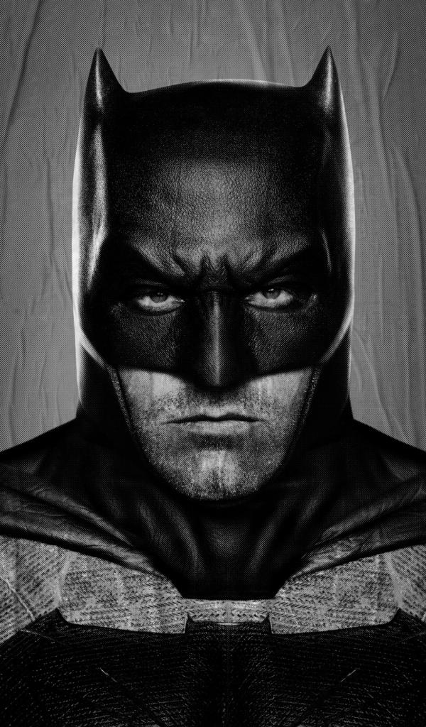 Ben affleck batman v superman 2016 wallpapers 600x1024 - Ben affleck batman wallpaper ...