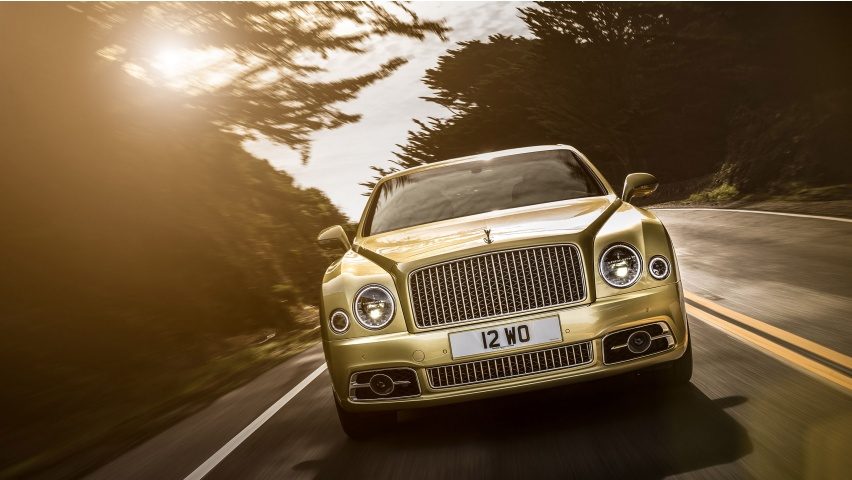 Bentley Mulsanne Speed 2017