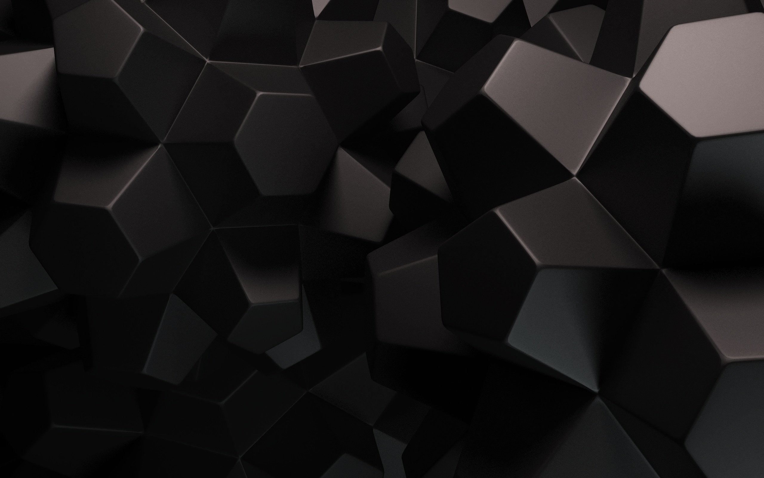 Black Abstract Shapes