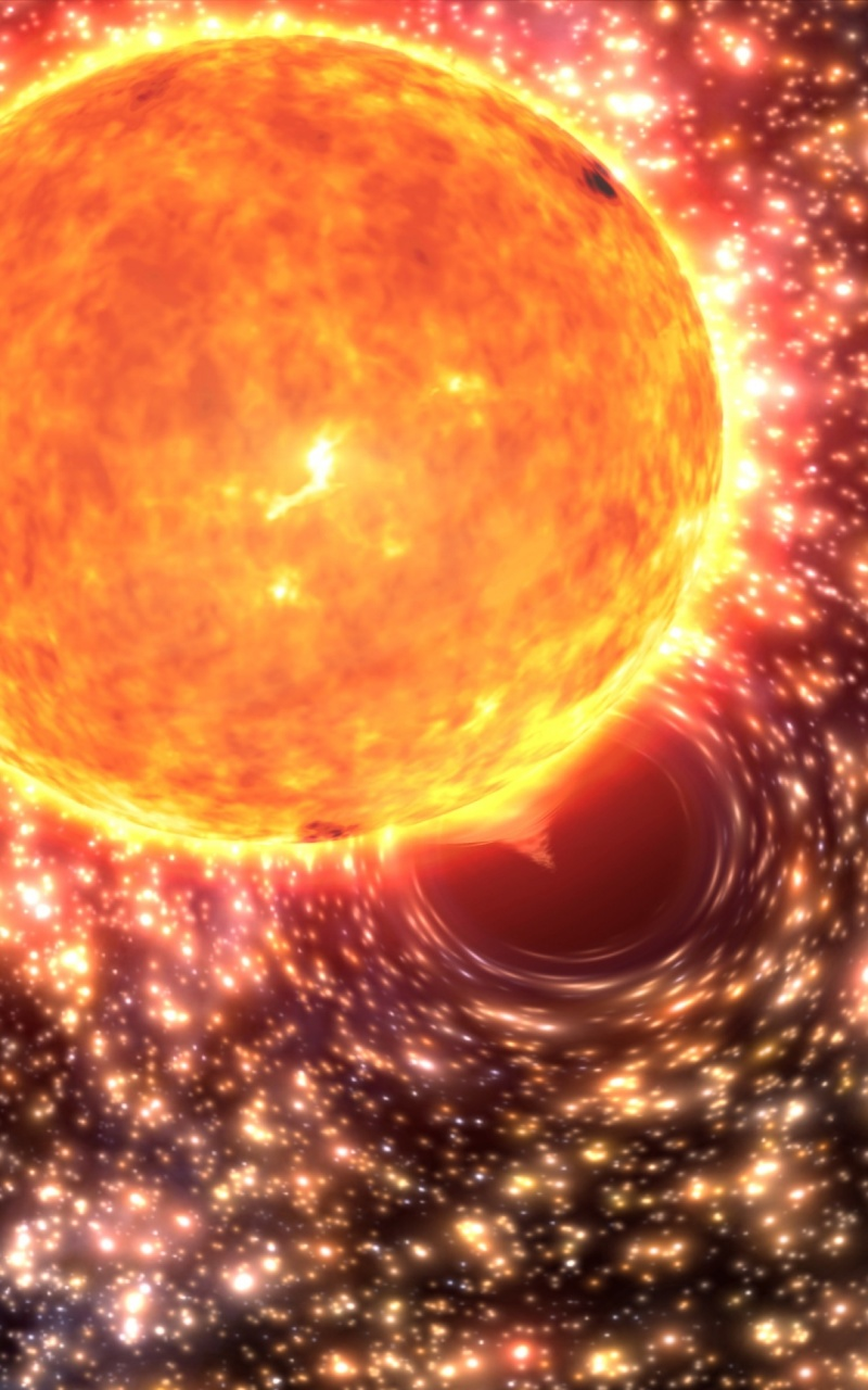 Black Hole Star Engulfing