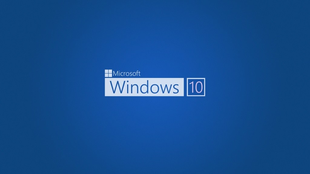 Blue Windows 10