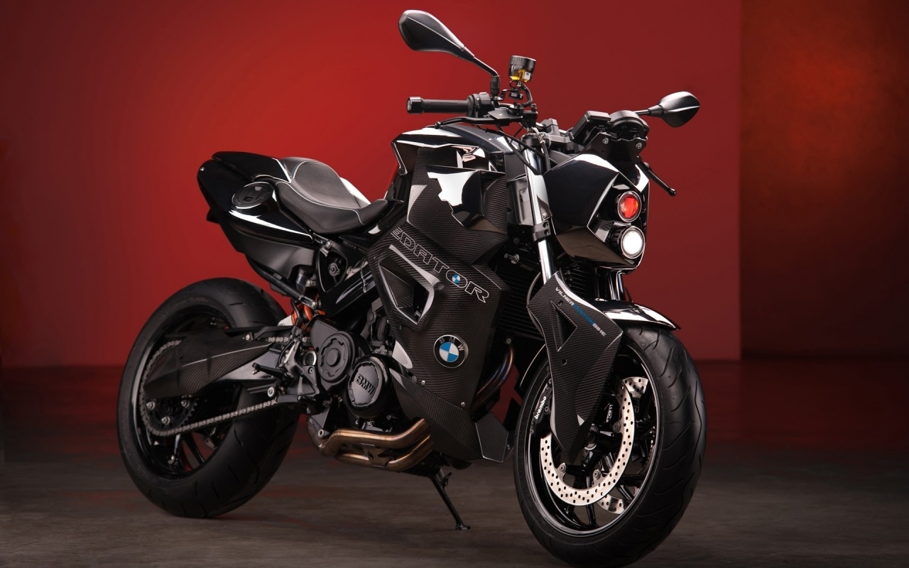 BMW F800 R Predator Static Red Wallpapers