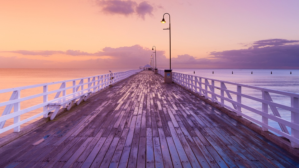 Boardwalk at Sunset