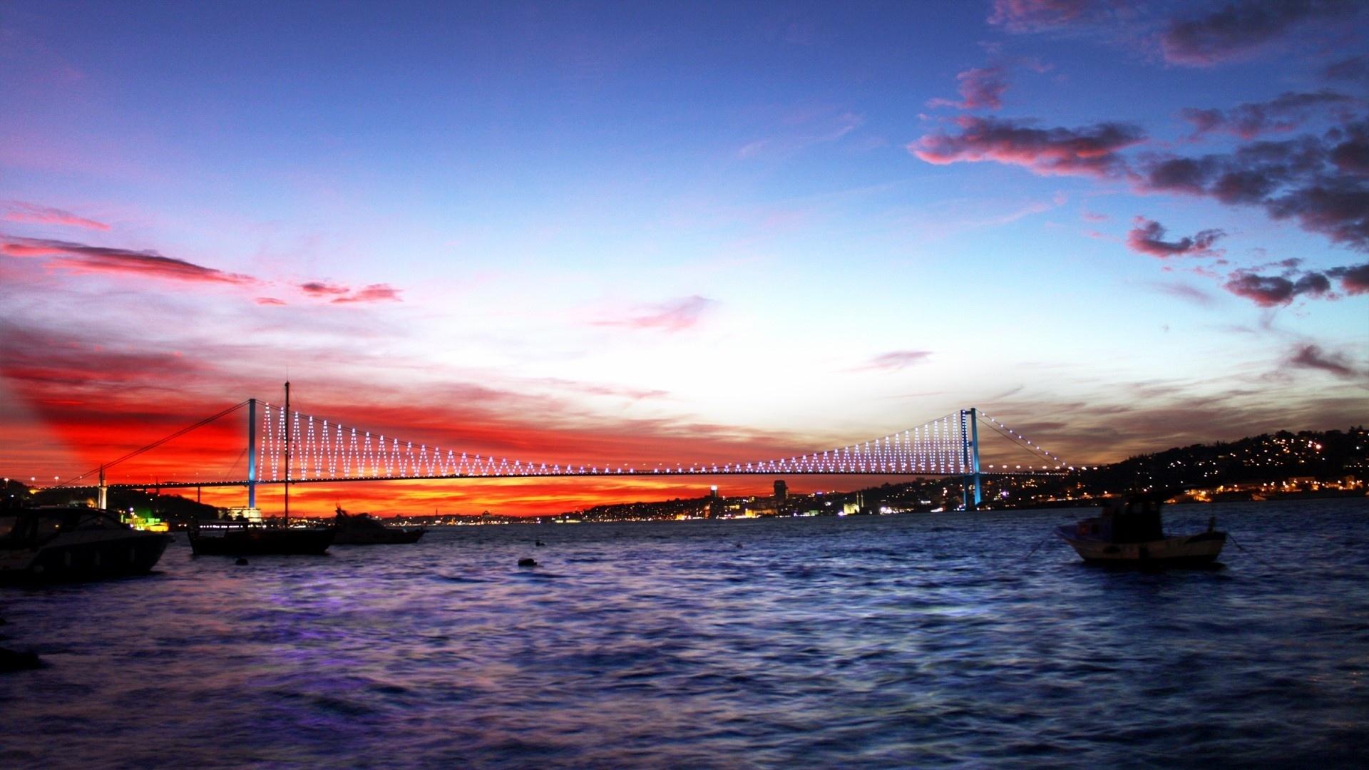 Bosphorus Bridge Istanbul Wallpapers - 1920x1080 - 518384