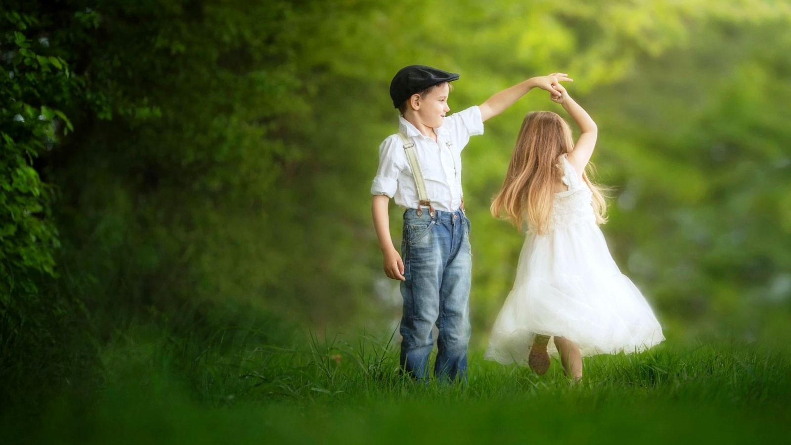 Boy And Girl Dance Wallpapers - 1600x900 - 294416