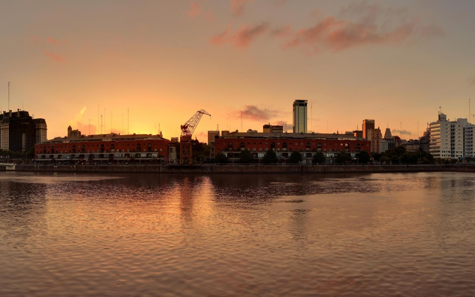 Buenos Aires Evening Panoramic