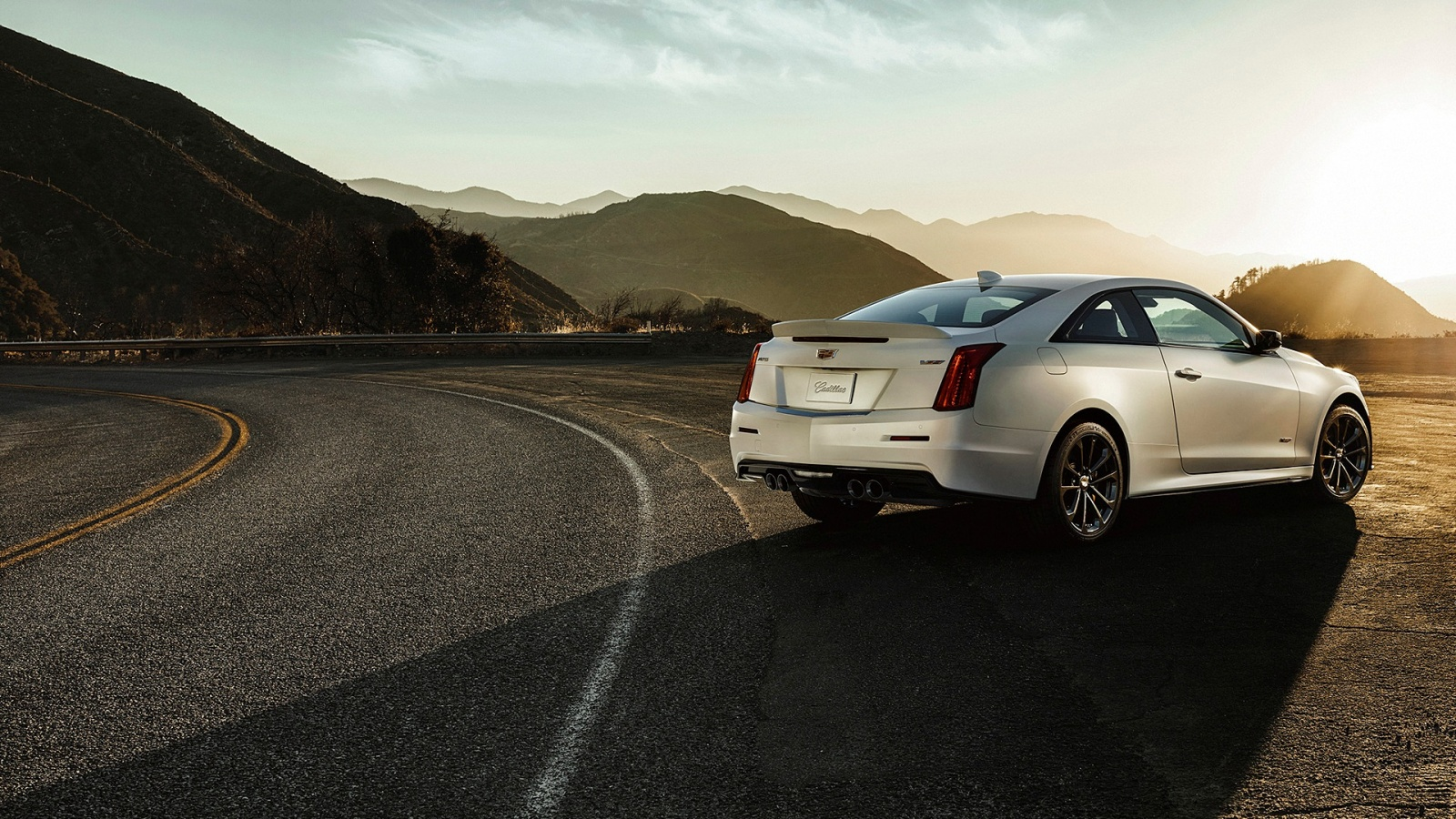 Cadillac Ats Coupe >> Cadillac ATS-V Coupe 2016 Wallpapers - 1600x900 - 619062